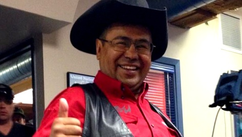 Chief Roger William of the Tsilhqot'in 'First Nation' (Photo: Chief Bob Chamberlin / Twitter)
