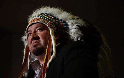 Grand Chief Derek Nepinak (Sean Kilpatrick-The Canadian Press)