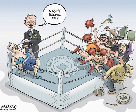 Graeme MacKay, The Hamilton Spectator - Monday, January 21, 2013