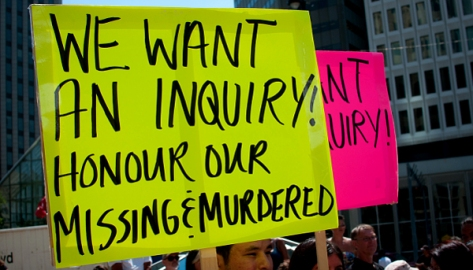 We Want An Inquiry - Photo by Media IndigenaFB