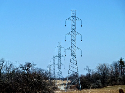 Hydro Towers - outside Caledonia