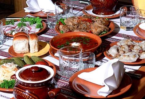 Ukrainian Dinner