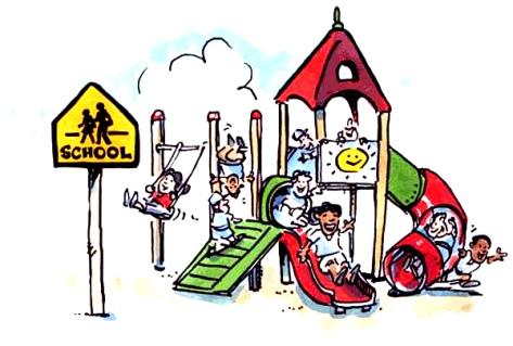 Schoolyard -Drawing
