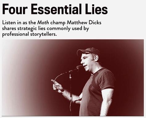 http://scottberkun.com/2015/the-four-lies-of-storytelling/