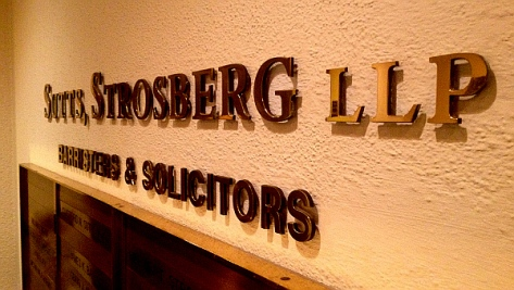 'Sutts, Strosberg LLP'(Windsor, Ont.}