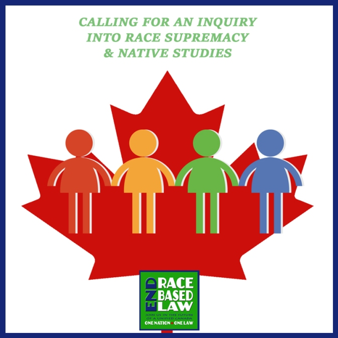 Calling for an inquiry into race supremacy and native studies