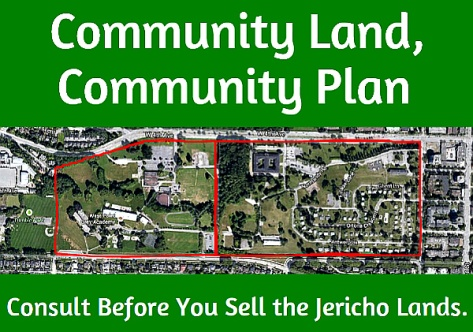 Jericho Lands Protest Poster