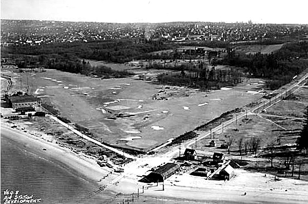 RCAF Air Station, Jericho Beach, circa 1937. Image - Vancouver Archives