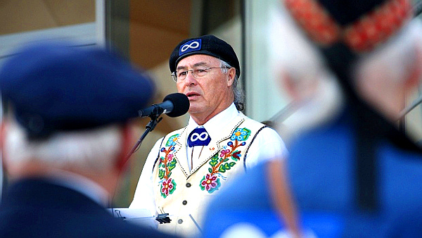 Clement Chartier, president of the Métis National Council (David Vincent-The Associated Press)
