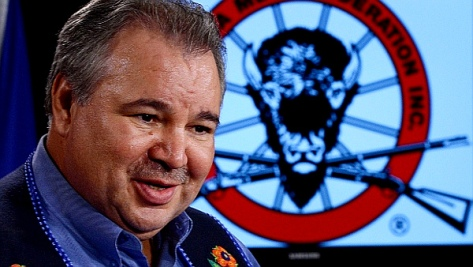 David Chartrand, President of the 'Manitoba Metis Federation' (Sean Kilpatrick-Canadian Press)