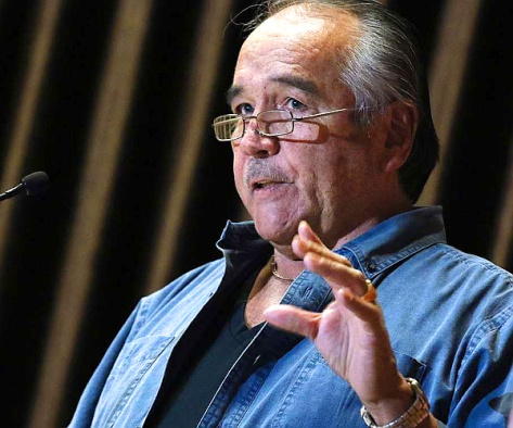Dwight Dorey, national chief of the 'Congress of Aboriginal Peoples' (GAVIN YOUNG - CALGARY HERALD)