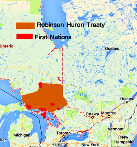 Robinson-HuronTREATY-MAP