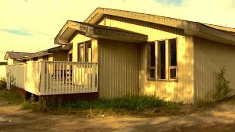 Closed Offices of the Liard 'First Nation' in Watson Lake, Yukon (Philippe Morin - CBC)