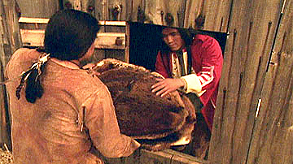 In the late 1700s a blanket was worth seven prime beaver pelts, a gun cost 14 pelts. (As portrayed in' Canada--A People's History)