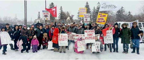 Nipissing 'First Nation' joins 'Idle No More'