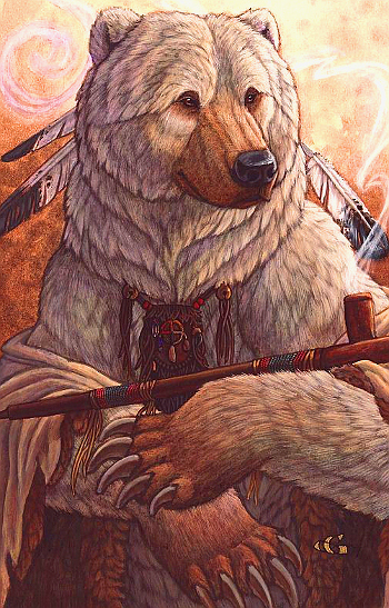 Bear of Peace, Christy Grandjean