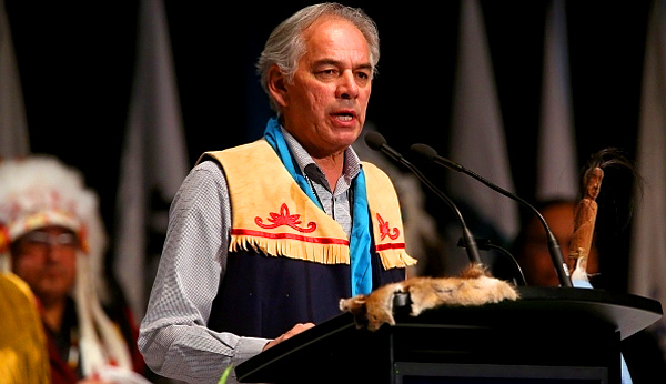 Chief Ghislain Picard of the Assembly of 'First Nations' of Quebec and Labrador (Photo by Canadian Press)