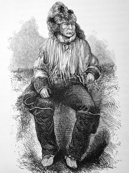 """""""Klatsassan, the Chilicoaten chief...insisted upon Ahan and Lootas assisting in the murder, threatening them with death if they refused."""""""