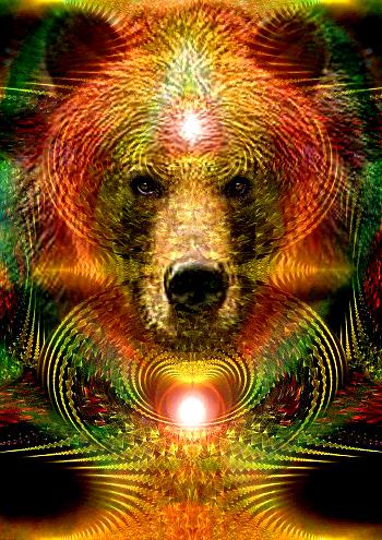 'Spirit of the Bear', Artist--Bill Brouard