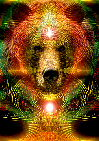 'Spirit of the Bear', Artist--Bill Brouard