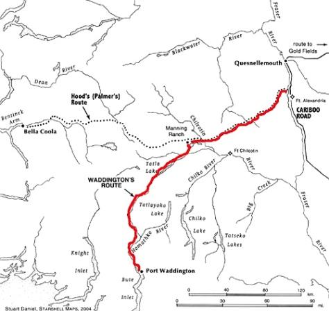 Waddington's Route
