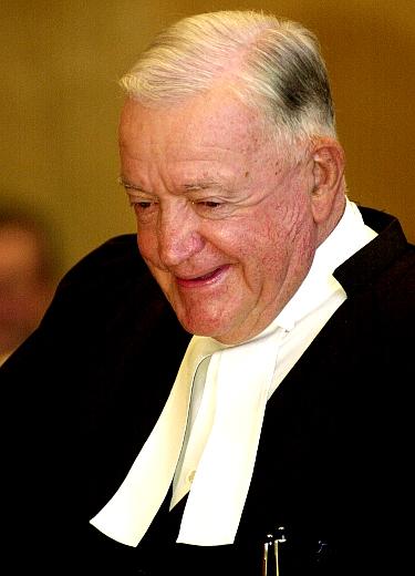 British Columbia Chief Justice Allan McEachern