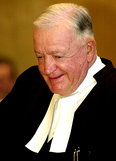 British Columbia Chief Justice Allan McEachern