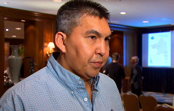 Chief Marvin Yahey of the Blueberry River 'First Nation' (CBC)