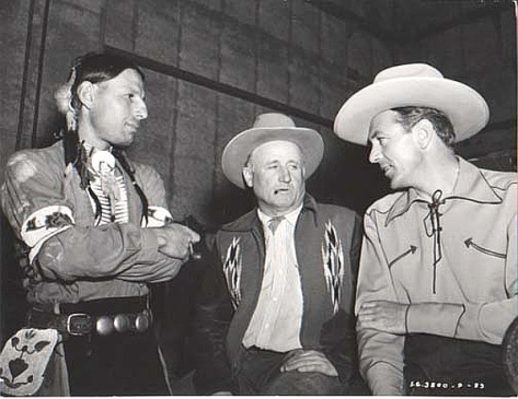 With Gary Cooper