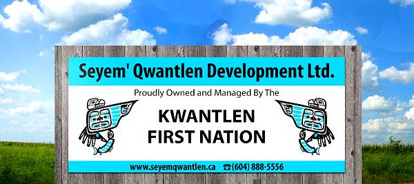 Kwantlen-First-Nation-Signage