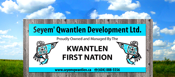 Kwantlen-First-Nation-Signage