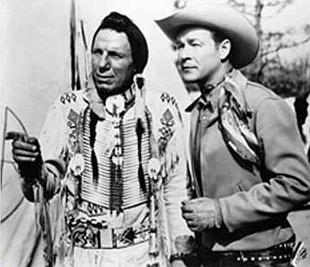 With Roy Rogers