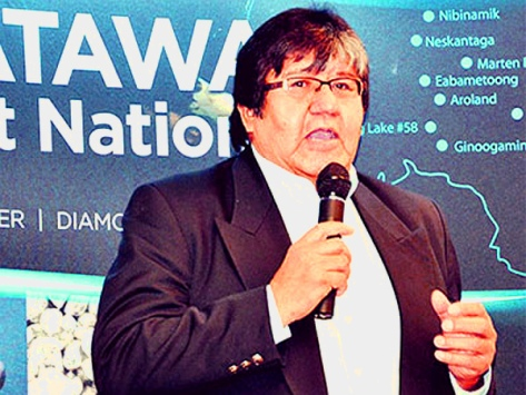 David Paul Achneepineskum, Matawa 'First Nations' CEO