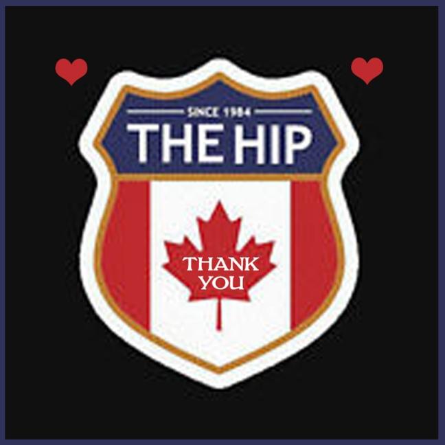 Thank you to The Tragically Hip