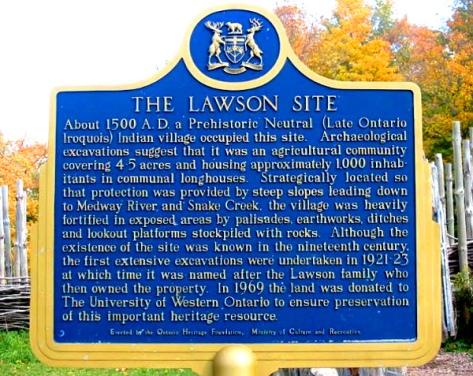 Lawson Plaque