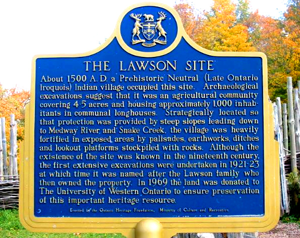 Lawson Plaque