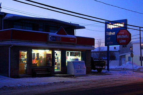 Scene of Mequish crime, La Tuque (PHOTO: AMÉLIE ST-YVES)