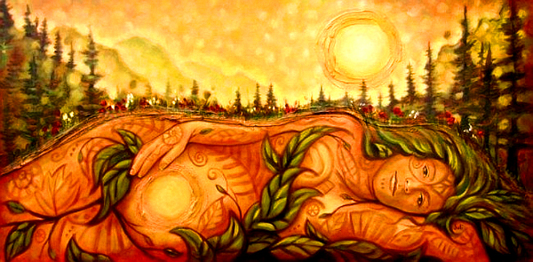 Mother Earth--Terre-Mère--Madre Tierra--Pachamama