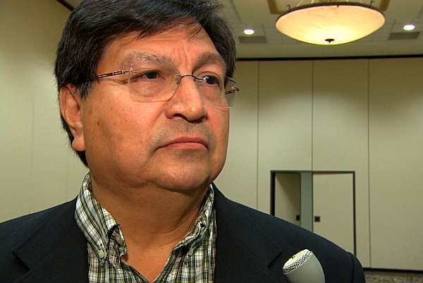 Ron Swain, national vice-chief with the Congress of Aboriginal Peoples.(Photo: CBC)
