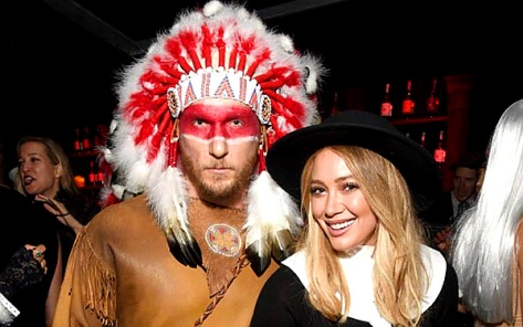 Hilary Duff and Jason Walsh attend the Casamigos Halloween Party (Michael Kovac - Getty Images)