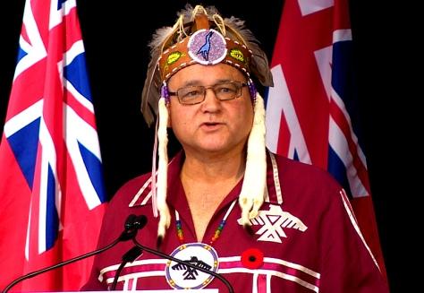 Anishinabek Nation Grand Council Chief Patrick Madahbee (Photo: CBC)