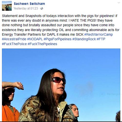 Canadian aboriginal 'Warrior' Journalist