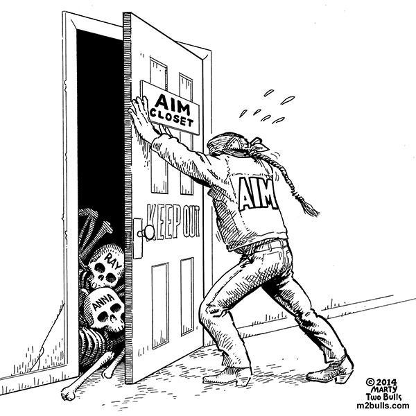 AIM's Skeletons In The Closet -- Marty Two Bulls