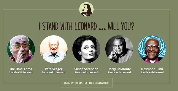 freeleonardpeltiercelebrities