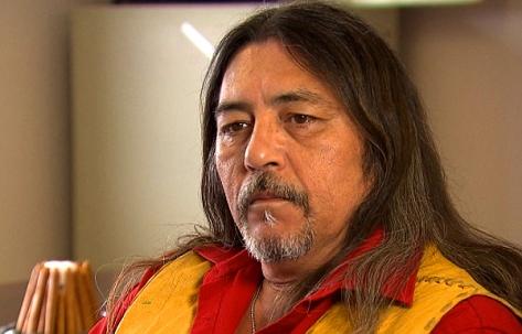 Kanesatake Grand Chief Serge Simon (CBC)