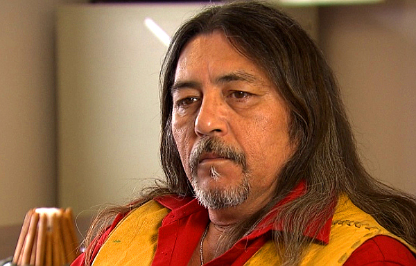 Kanesatake Grand Chief Serge Simon (CBC)