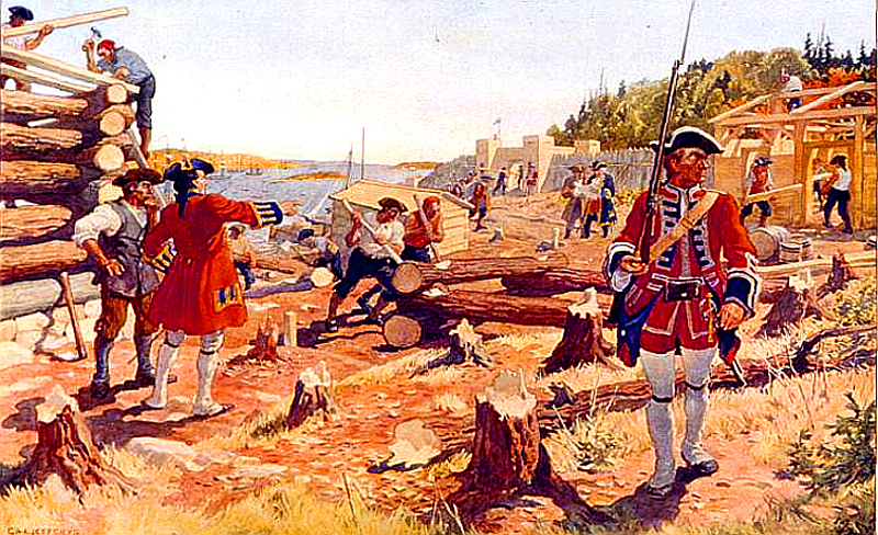 The Founding of Halifax, 1749, by Charles W. Jefferys